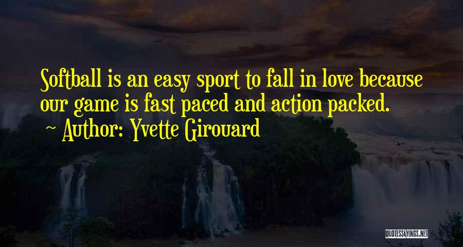 Not Easy To Fall In Love Quotes By Yvette Girouard
