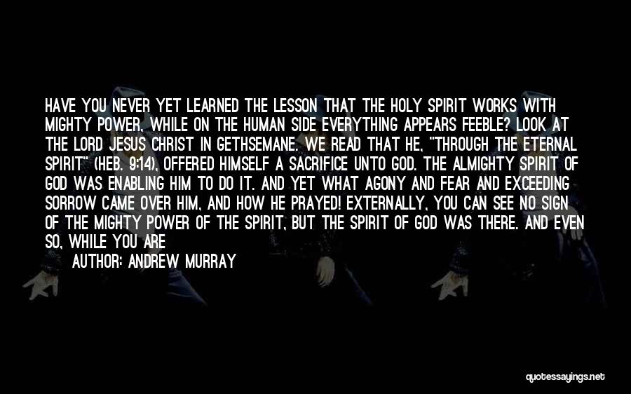 Not Enabling Quotes By Andrew Murray