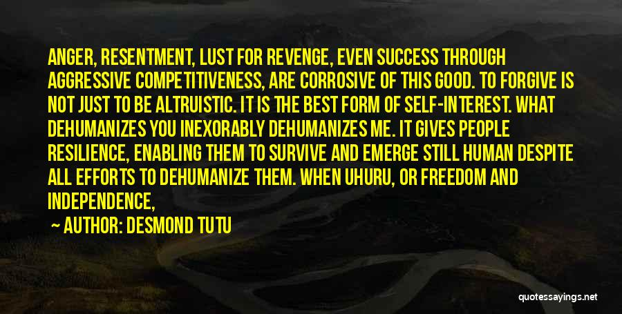 Not Enabling Quotes By Desmond Tutu