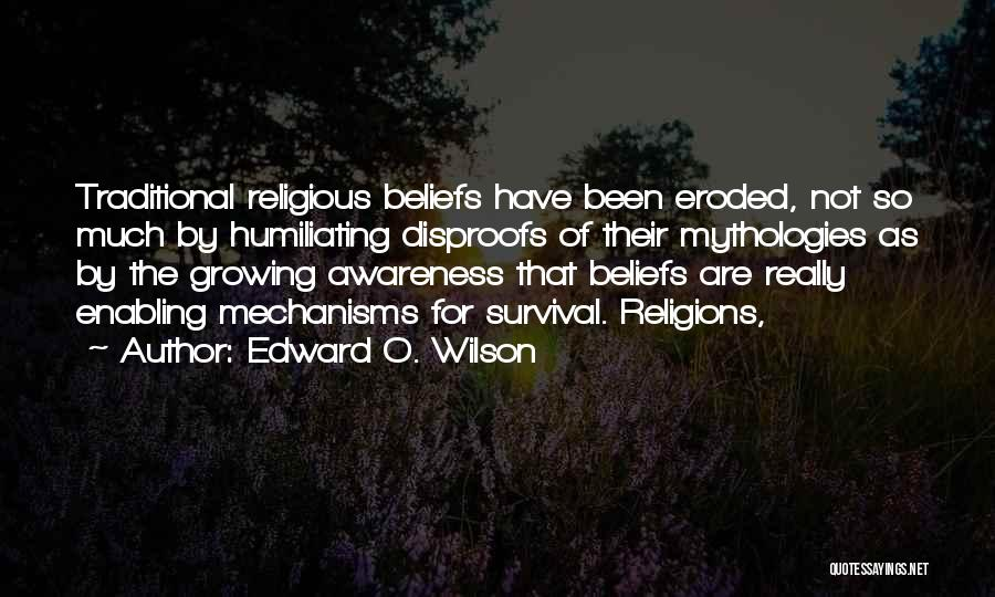 Not Enabling Quotes By Edward O. Wilson