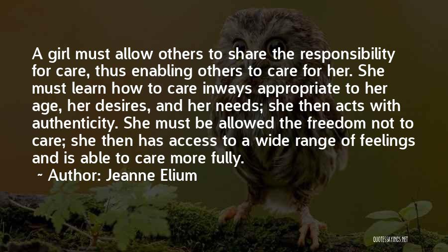 Not Enabling Quotes By Jeanne Elium