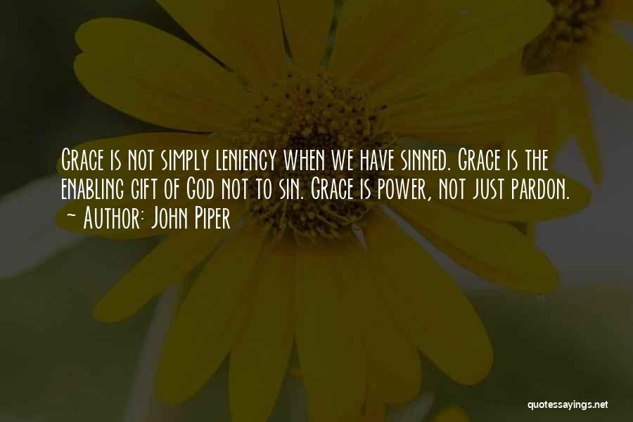 Not Enabling Quotes By John Piper