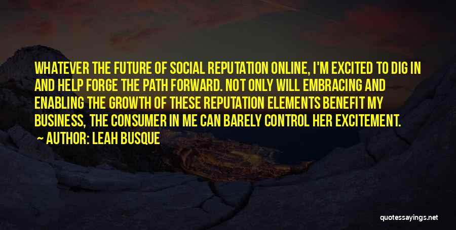 Not Enabling Quotes By Leah Busque