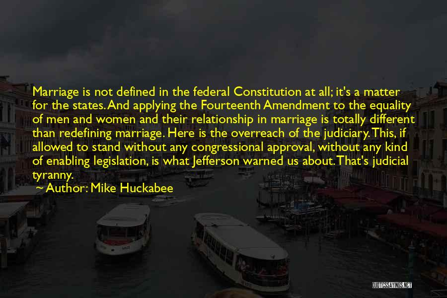 Not Enabling Quotes By Mike Huckabee