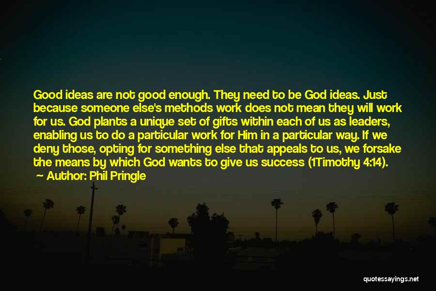Not Enabling Quotes By Phil Pringle