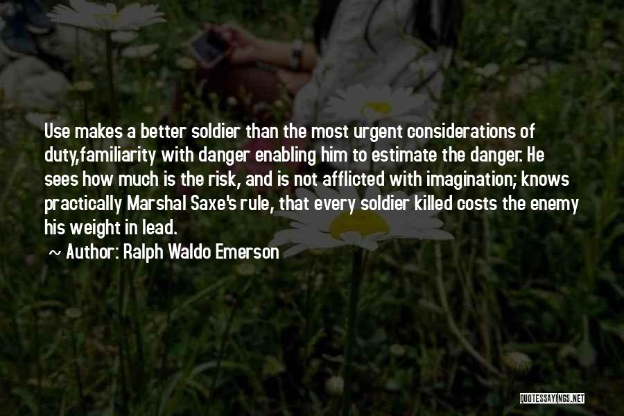 Not Enabling Quotes By Ralph Waldo Emerson