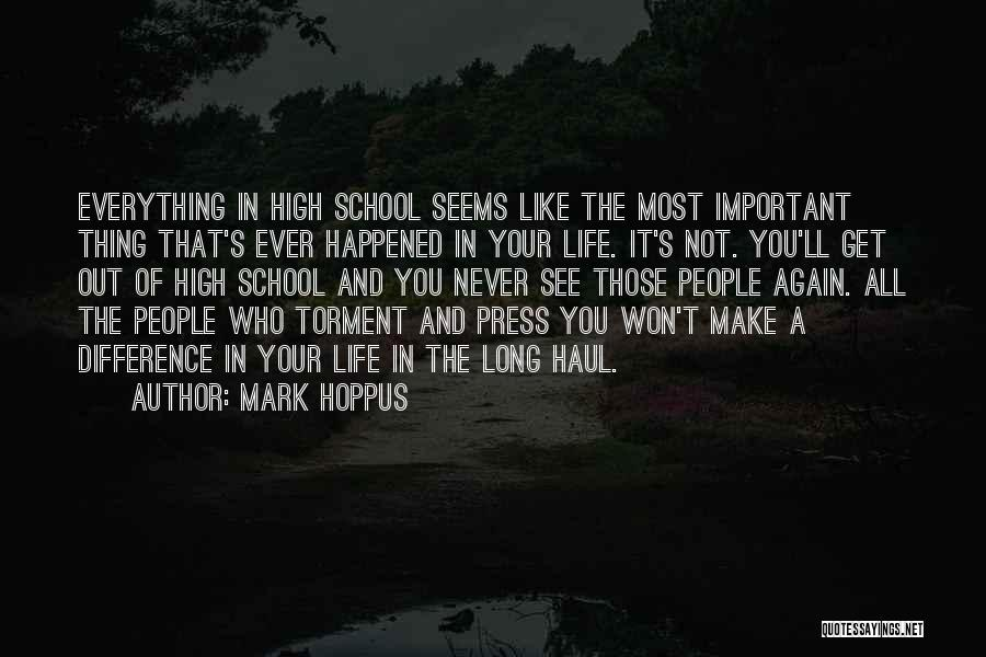 Not Everything Seems Quotes By Mark Hoppus