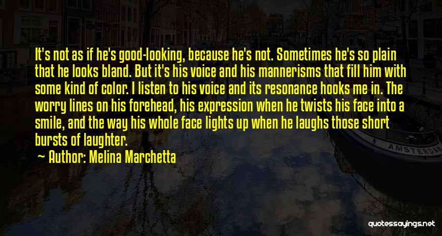 Not Falling In Love With Me Quotes By Melina Marchetta