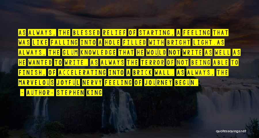 Not Feeling Sorry For Yourself Quotes By Stephen King