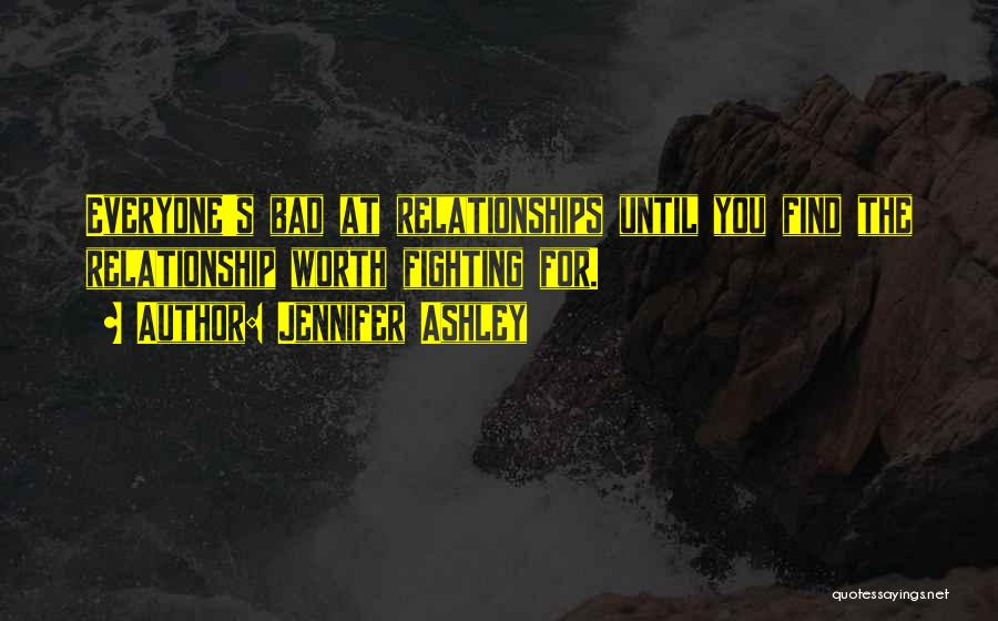 Not Fighting In Relationships Quotes By Jennifer Ashley