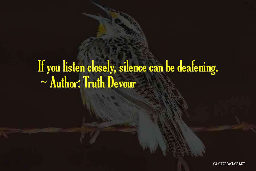 Not Fighting In Relationships Quotes By Truth Devour