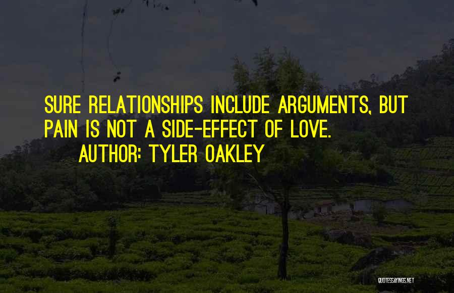 Not Fighting In Relationships Quotes By Tyler Oakley