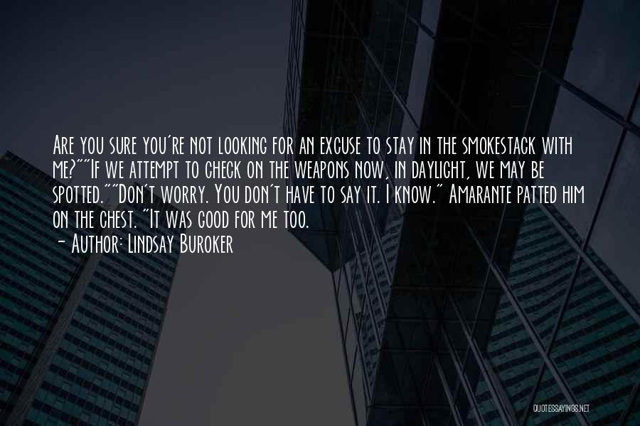 Not For You Quotes By Lindsay Buroker