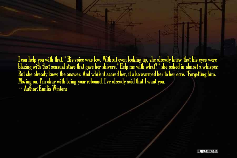 Not Forgetting The Past But Moving On Quotes By Emilia Winters