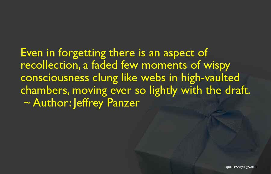Not Forgetting The Past But Moving On Quotes By Jeffrey Panzer