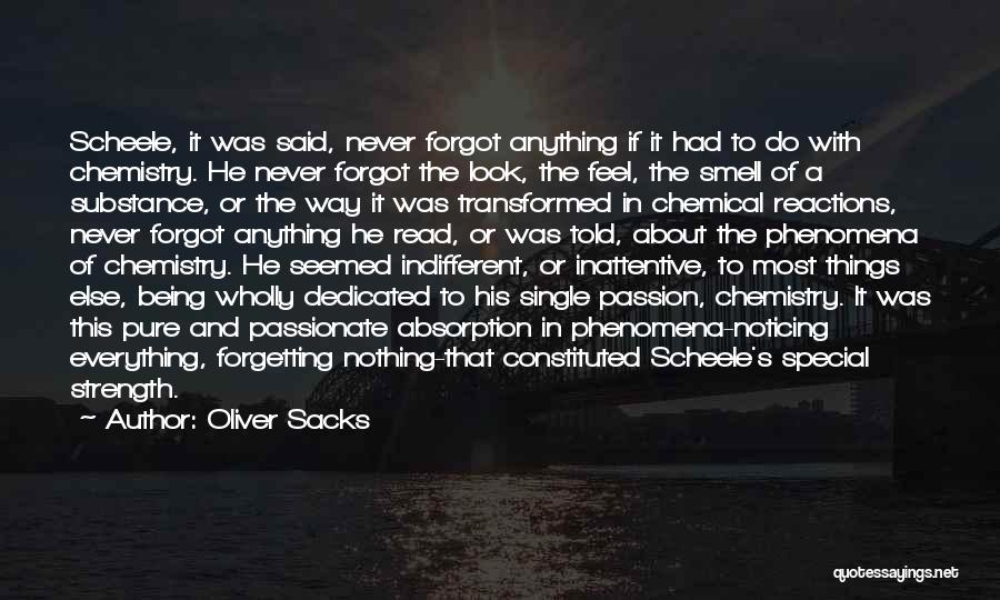 Not Forgetting Yourself Quotes By Oliver Sacks