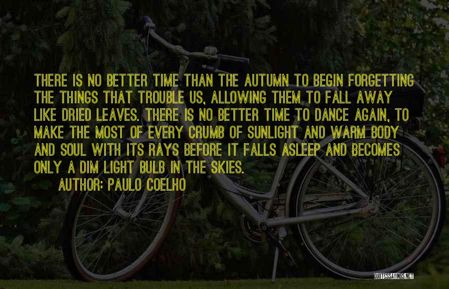 Not Forgetting Yourself Quotes By Paulo Coelho