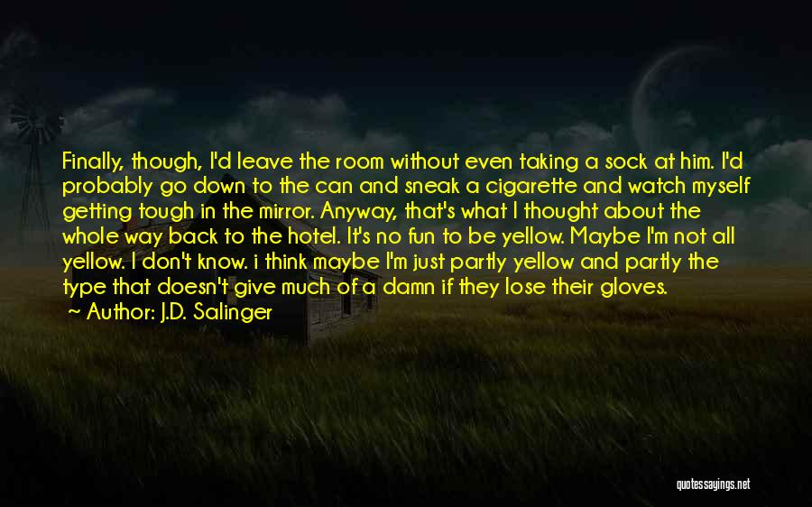 Not Getting Back What You Give Quotes By J.D. Salinger
