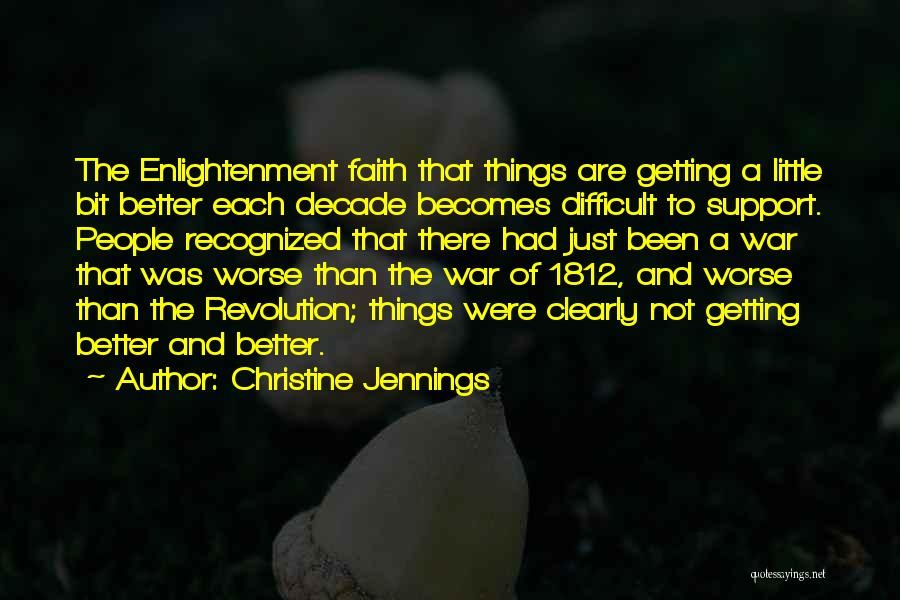 Not Getting Recognized Quotes By Christine Jennings