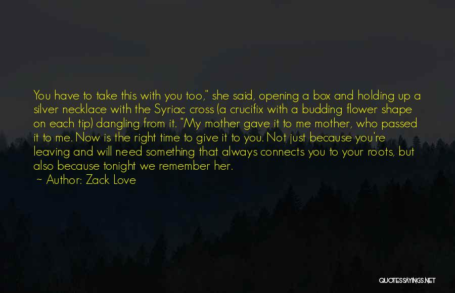 Not Give Up On Love Quotes By Zack Love