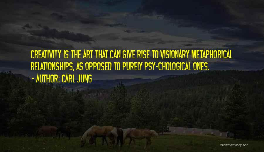 Not Giving Up On Relationships Quotes By Carl Jung