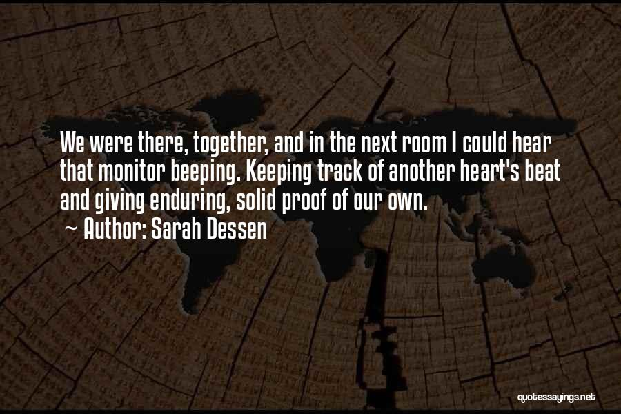 Not Giving Up On Relationships Quotes By Sarah Dessen