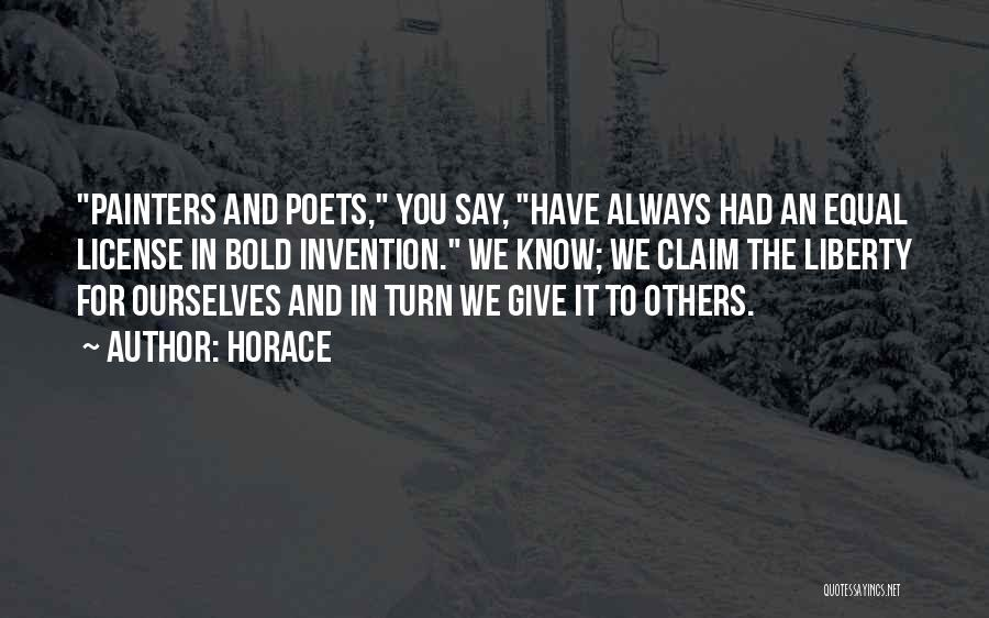 Not Giving Up On Someone Quotes By Horace