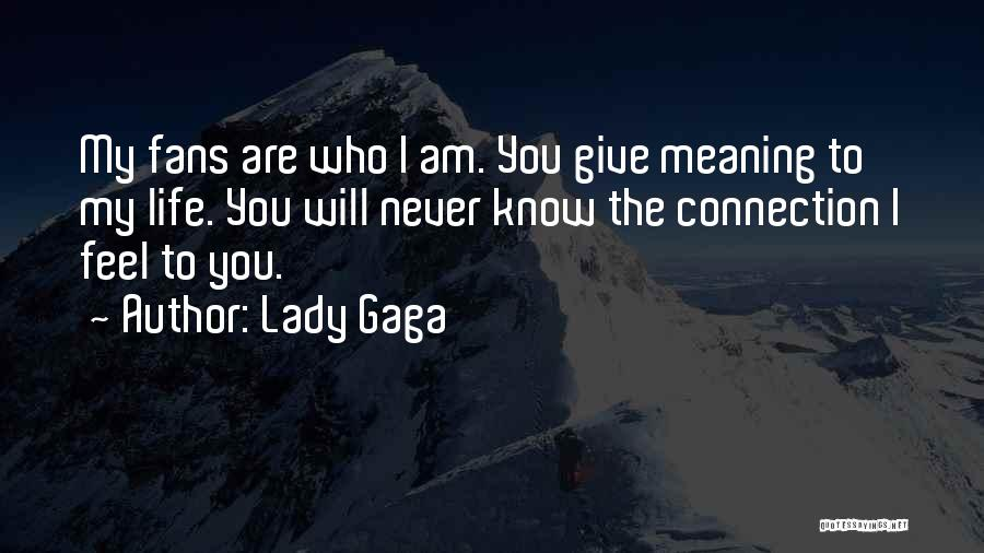 Not Giving Up On Someone Quotes By Lady Gaga