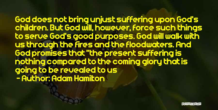 Not Going Good Quotes By Adam Hamilton