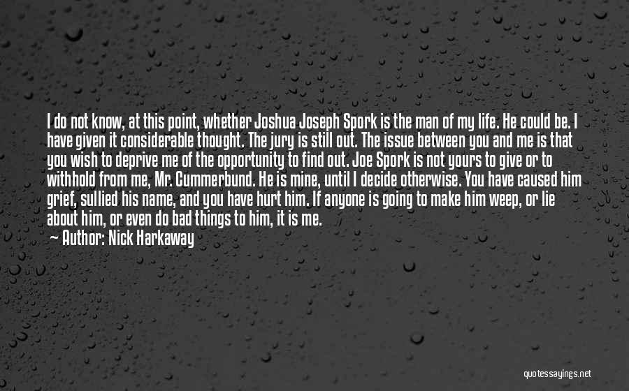 Not Going To Hurt Me Quotes By Nick Harkaway