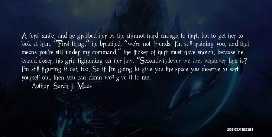 Not Going To Hurt Me Quotes By Sarah J. Maas