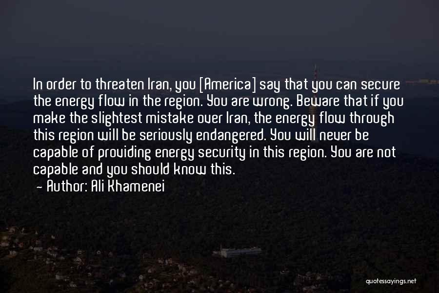 Not In The Wrong Quotes By Ali Khamenei