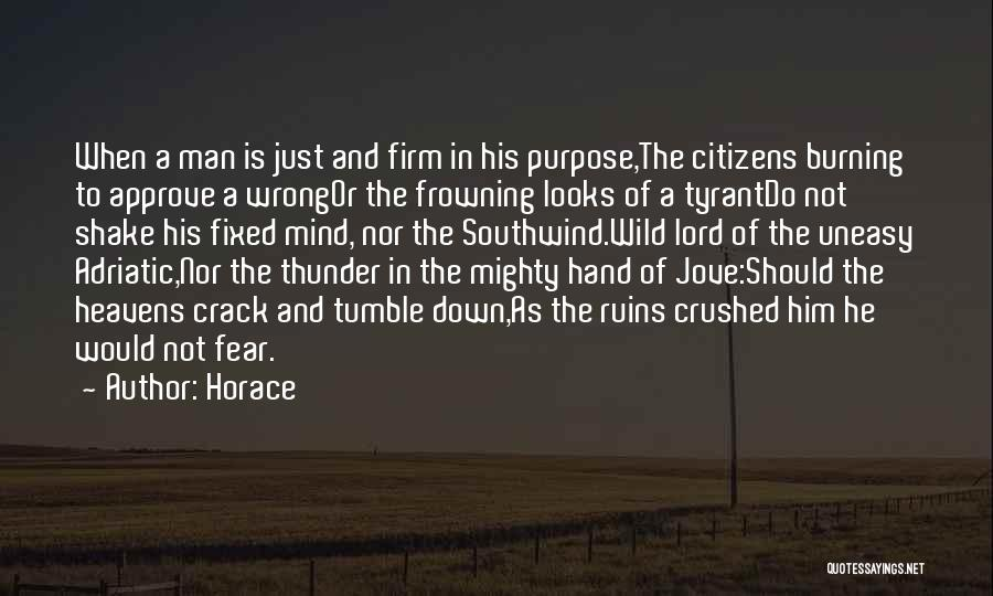 Not In The Wrong Quotes By Horace
