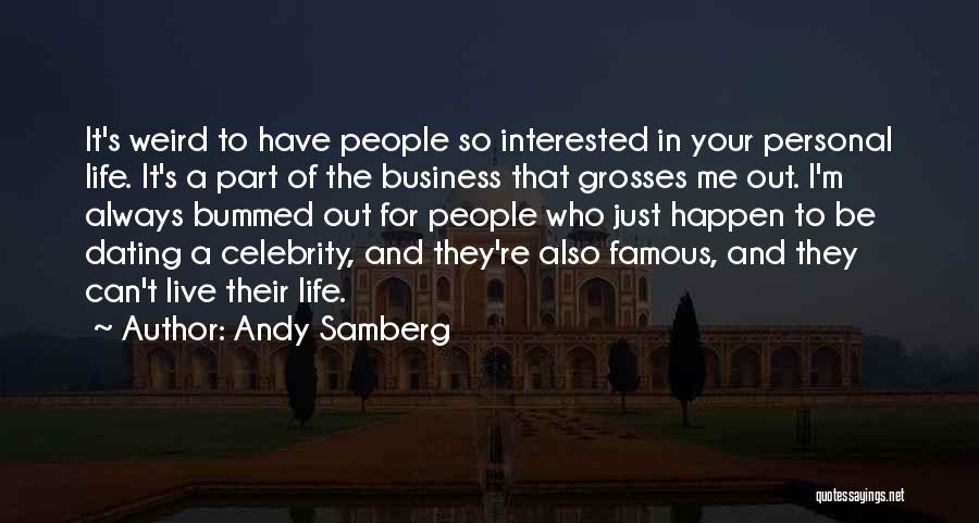 dating een Celebrity Quotes