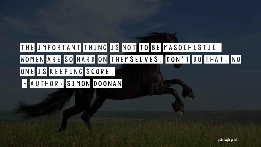Not Keeping Score Quotes By Simon Doonan