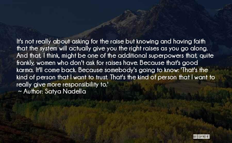 Not Knowing How To Trust Quotes By Satya Nadella