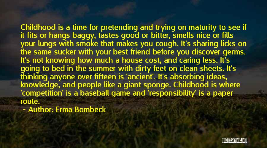 Not Knowing Where You're Going Quotes By Erma Bombeck
