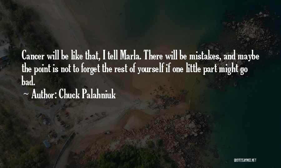 Not Like The Rest Quotes By Chuck Palahniuk