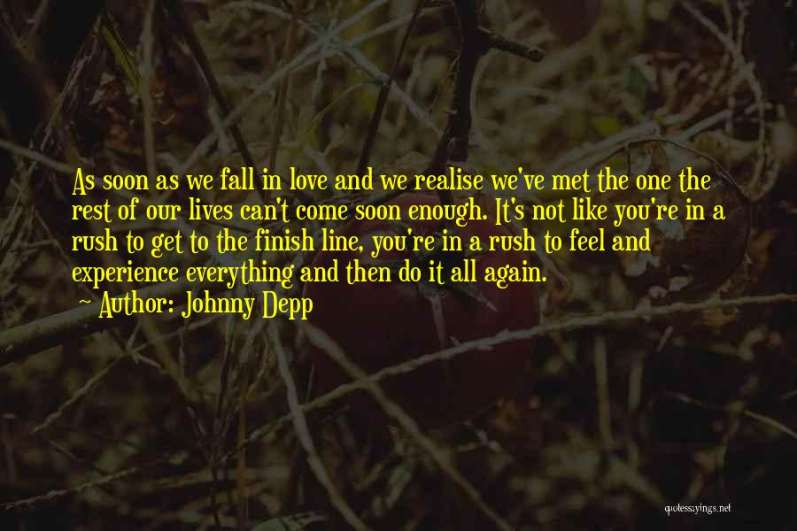 Not Like The Rest Quotes By Johnny Depp