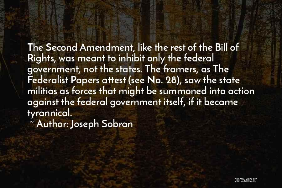 Not Like The Rest Quotes By Joseph Sobran