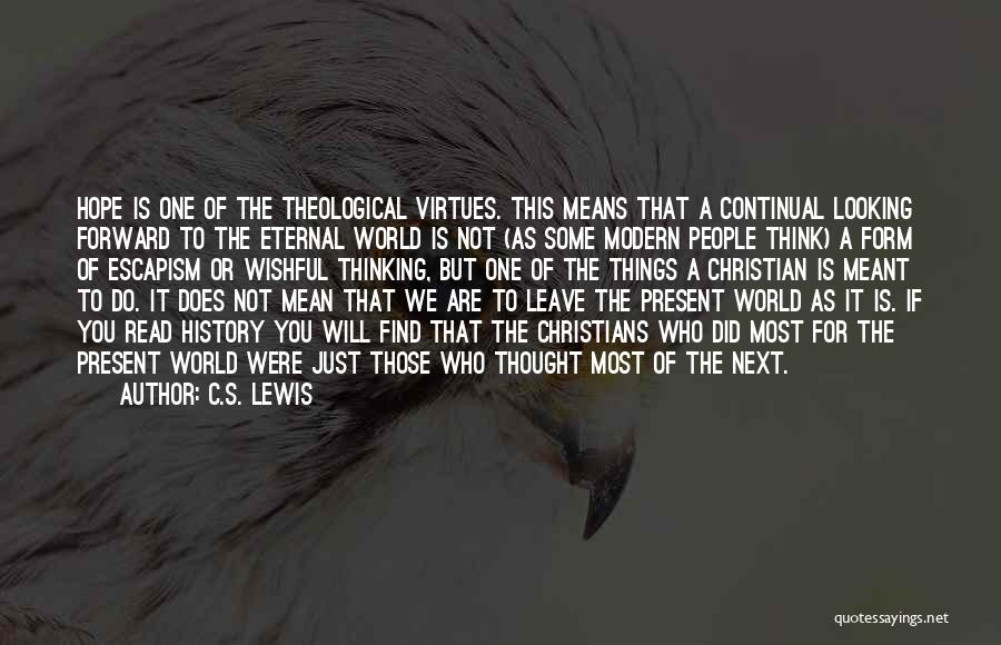 Not Meant For This World Quotes By C.S. Lewis