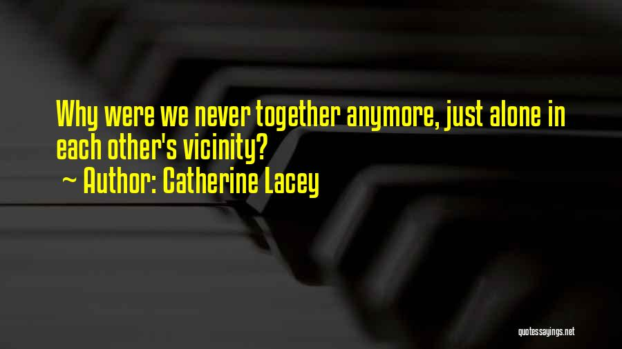 Not Missing You Anymore Quotes By Catherine Lacey