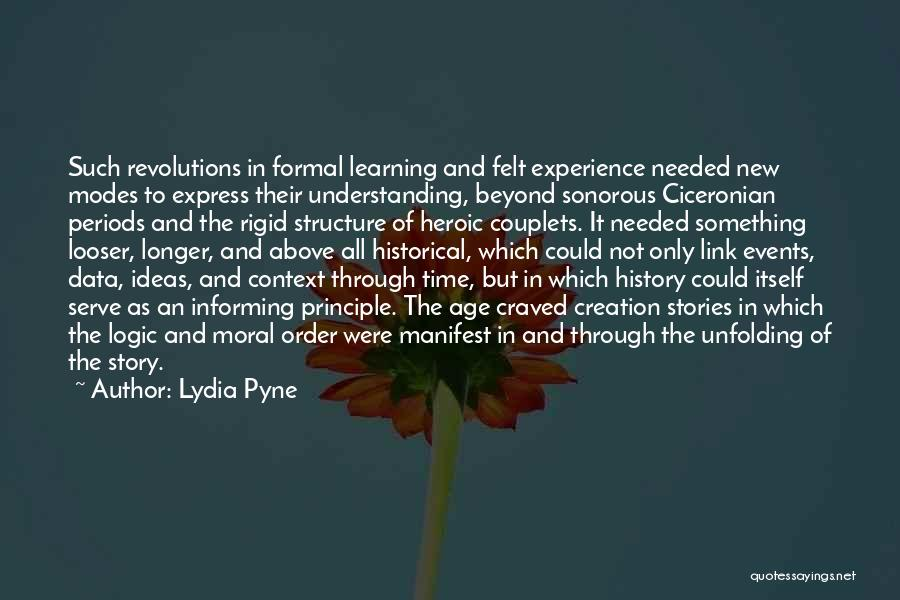 Not Needed Quotes By Lydia Pyne
