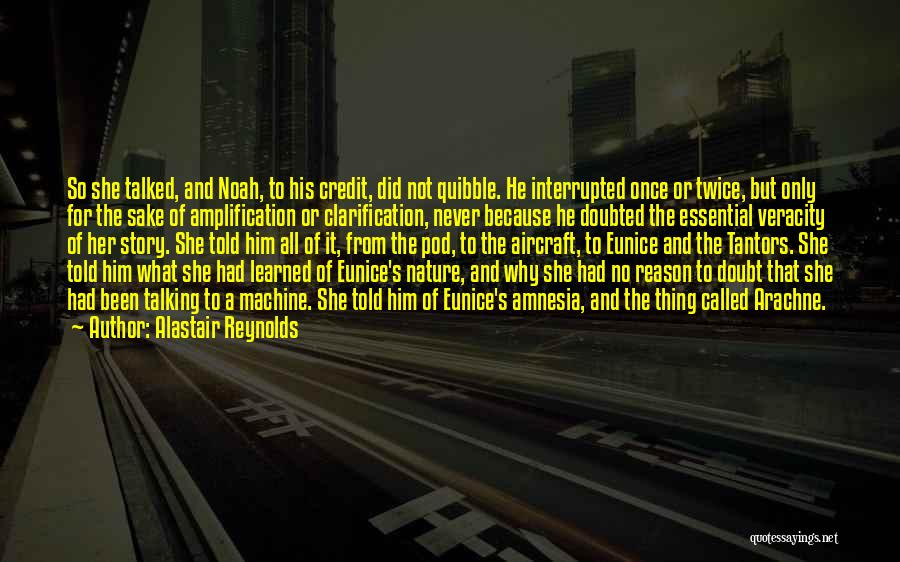 Not Once But Twice Quotes By Alastair Reynolds