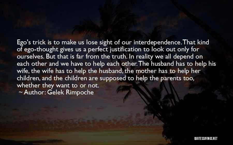 Not Perfect Mother Quotes By Gelek Rimpoche