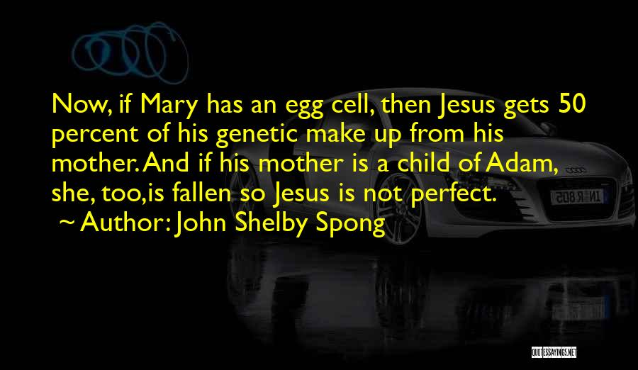 Not Perfect Mother Quotes By John Shelby Spong