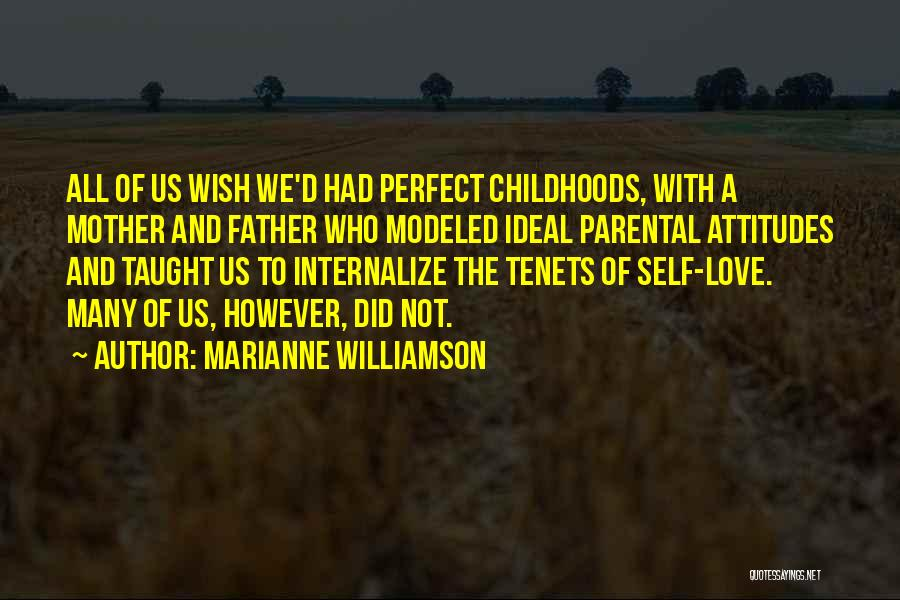 Not Perfect Mother Quotes By Marianne Williamson
