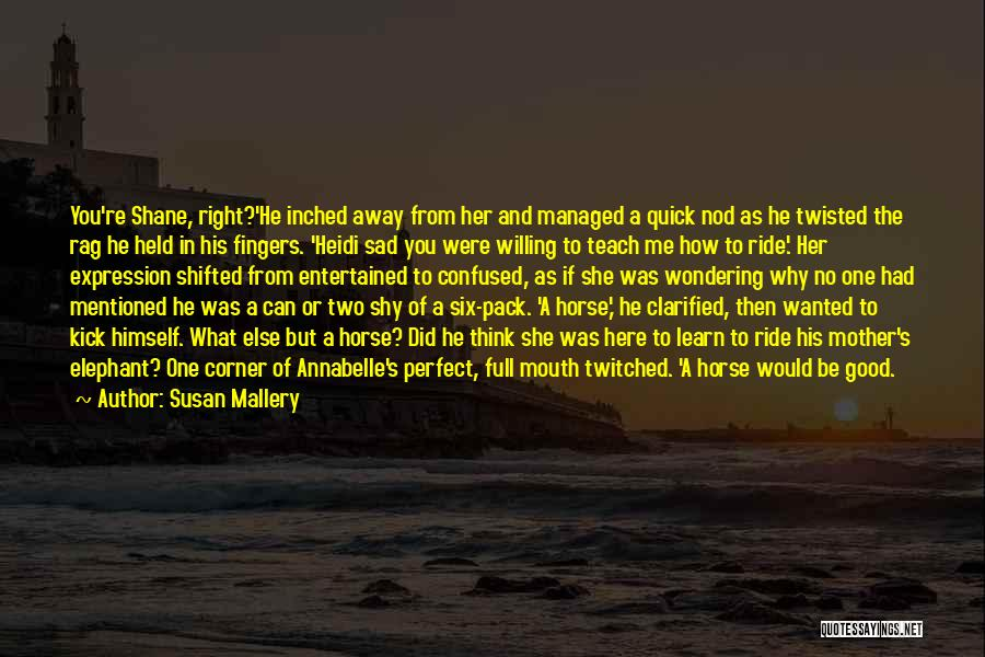 Not Perfect Mother Quotes By Susan Mallery