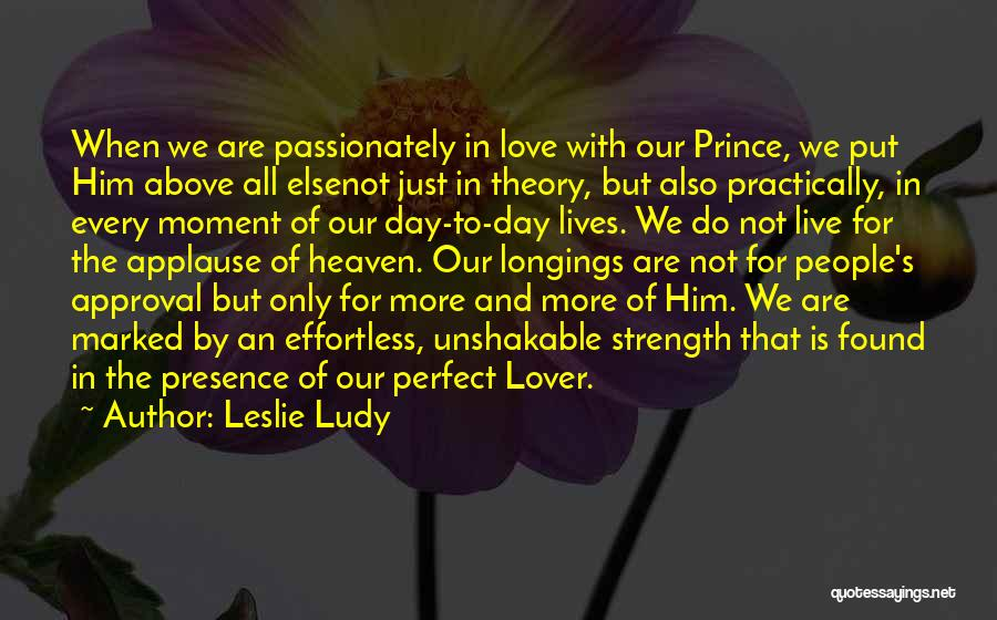 Not Perfect Relationships Quotes By Leslie Ludy