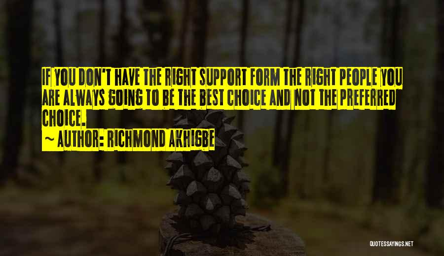 Not Planning Your Life Quotes By Richmond Akhigbe